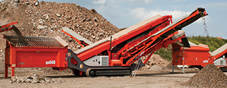 Sandvik QA440 Mobile Screen