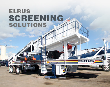 Aggregate Equipment Manufacturer | ELRUS Aggregate Systems
