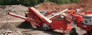 sandvik track mtd crushing and screening equipment