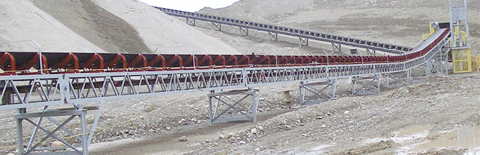 conveyor idlers and trough sets
