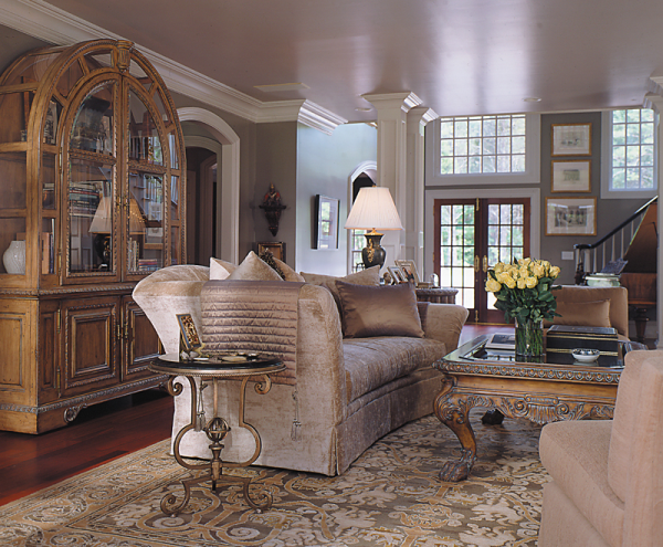 Add glamor with savonnerie carpets 6 chic rooms for Savonnerie salon