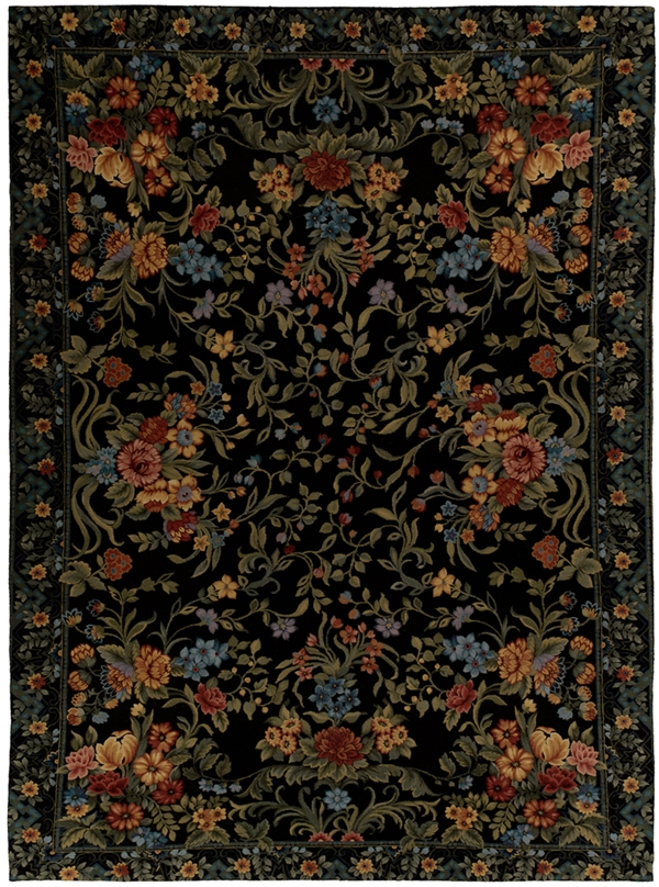 Black Needlepoint Rugs Enliven Dolce Amp Gabbana S F W 2012