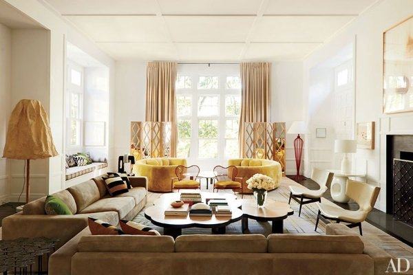 Architectural Digest October 2014 5 Best Rooms With Decorative Rugs