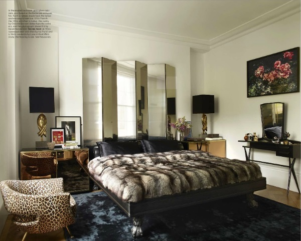 Elle Decor November 2014 5 Best Rooms With Decorative Rugs