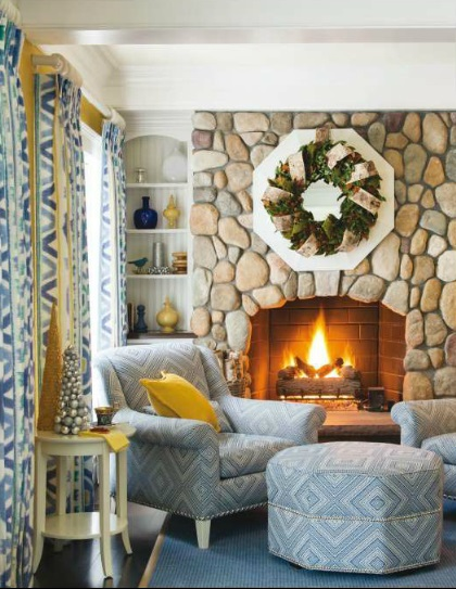 Traditional Home 2014 7 Best Holiday Interiors With