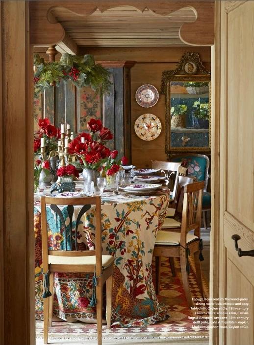 Veranda December 2014 7 Best Holiday Interiors With