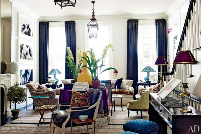 How To Decorate With Purple And Decorative Rugs 10 Chic
