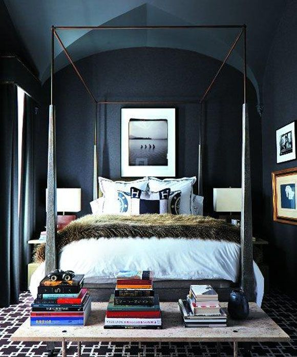 Masculine Master Bedroom Designs: 11 Chic Masculine Bedrooms Enriched By Geometric Rugs
