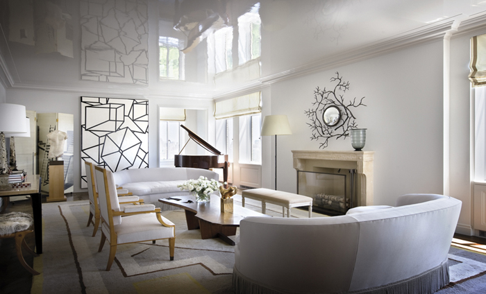How to decorate with art deco rugs 12 celebrated interiors - Art deco living room ...