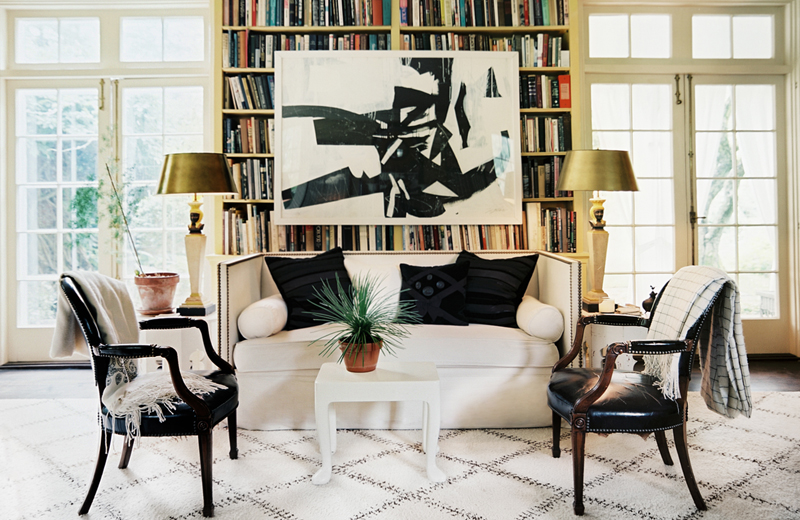 10 Gorgeous Rooms How To Decorate With Black Amp White