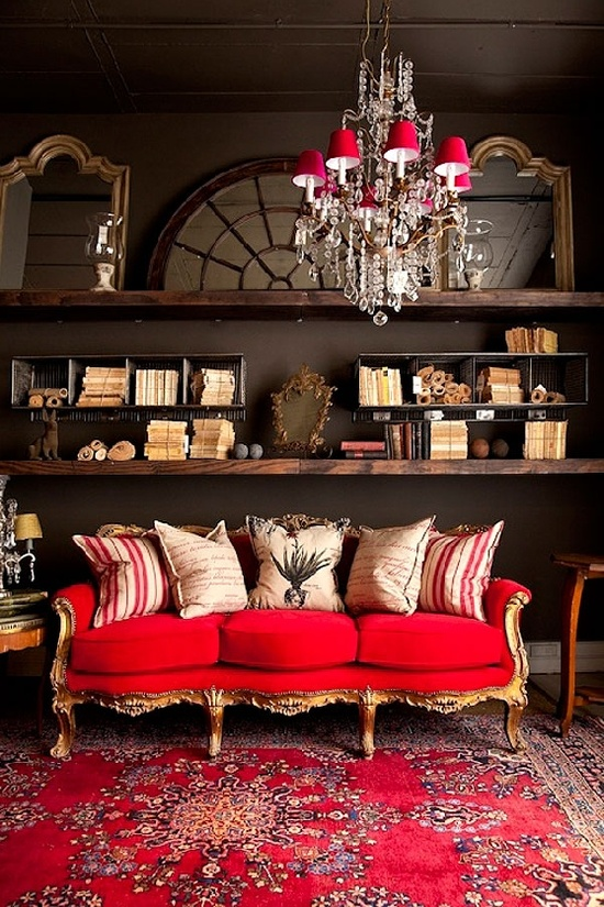 Red Rugs, Red Rug, Red Rugs For Sale, Red Oriental Rugs, Red. This Dramatic Living  Room ... Part 48