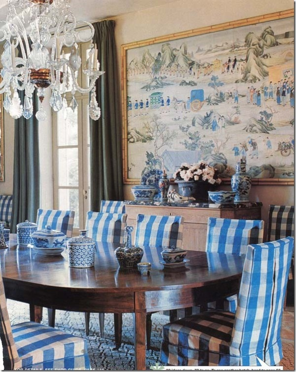 Pinterest 18 most gorgeous dining rooms with decorative rugs for Mark d sikes dining room