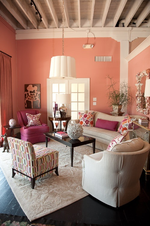 14 Gorgeous Interiors How To Pair Bold Colors With