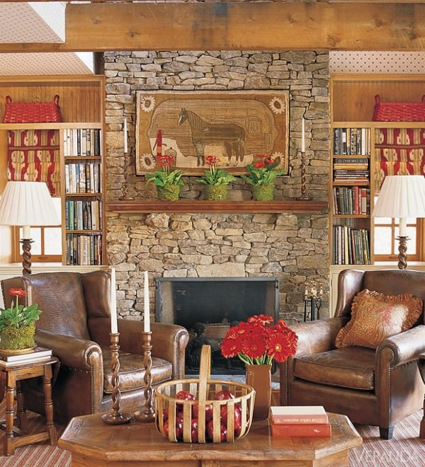 Marble Fireplace Rug: Best Of February 2014 Design Magazines: 18 Rooms With