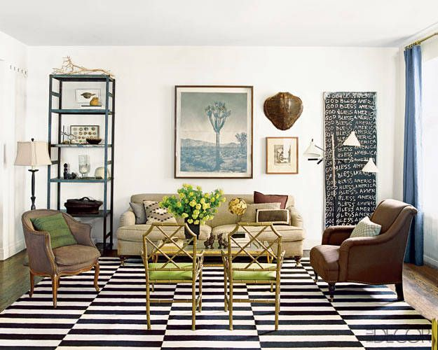 Pinterest 20 Best Interiors With Stripes And Striped Rugs
