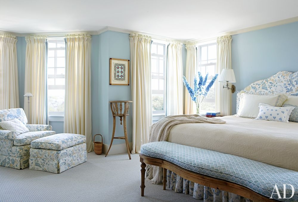 14 Chic Hamptons Nantucket Blue And White Interiors With