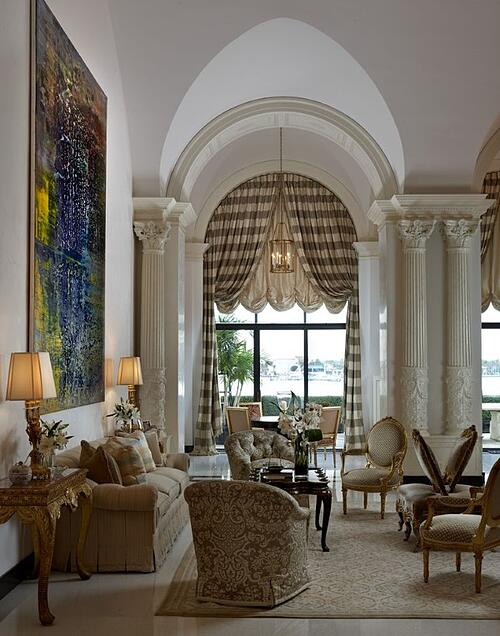 Damask Living Room Decor: Architectural Digest Predicts Damask Rugs Will Be Big In 2016