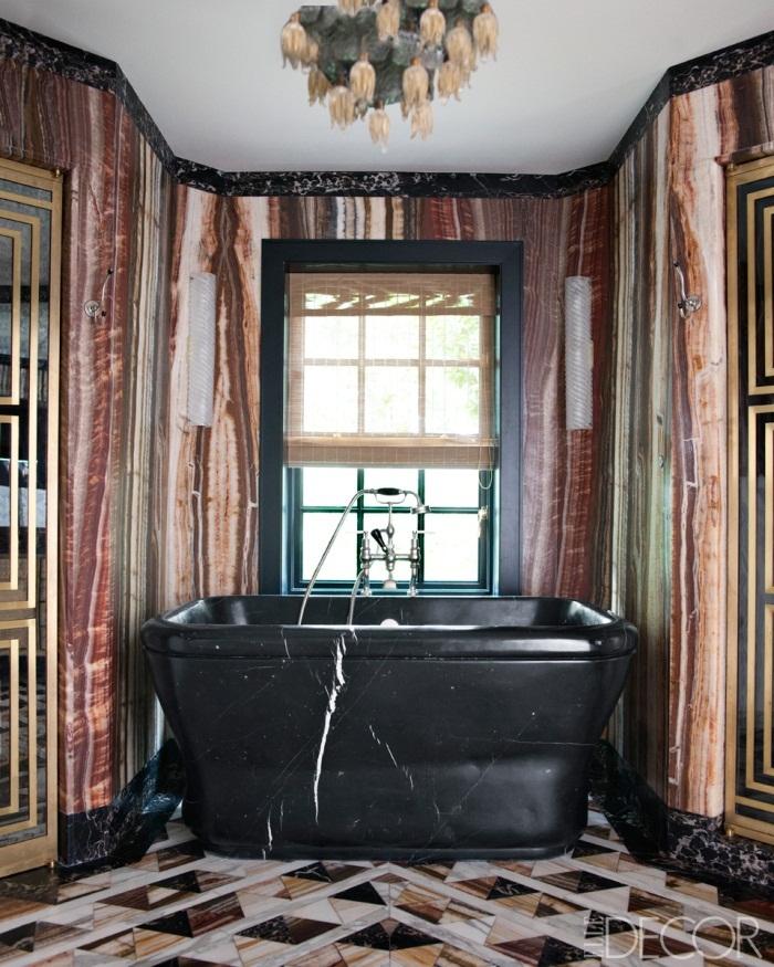 Glamorous Interior Design By Kelly Wearstler: 7 Grey And Black Art Deco Rugs Star In New Kelly Wearstler