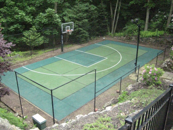 Sports courts indoor courts and outdoor courts residential for Sport court