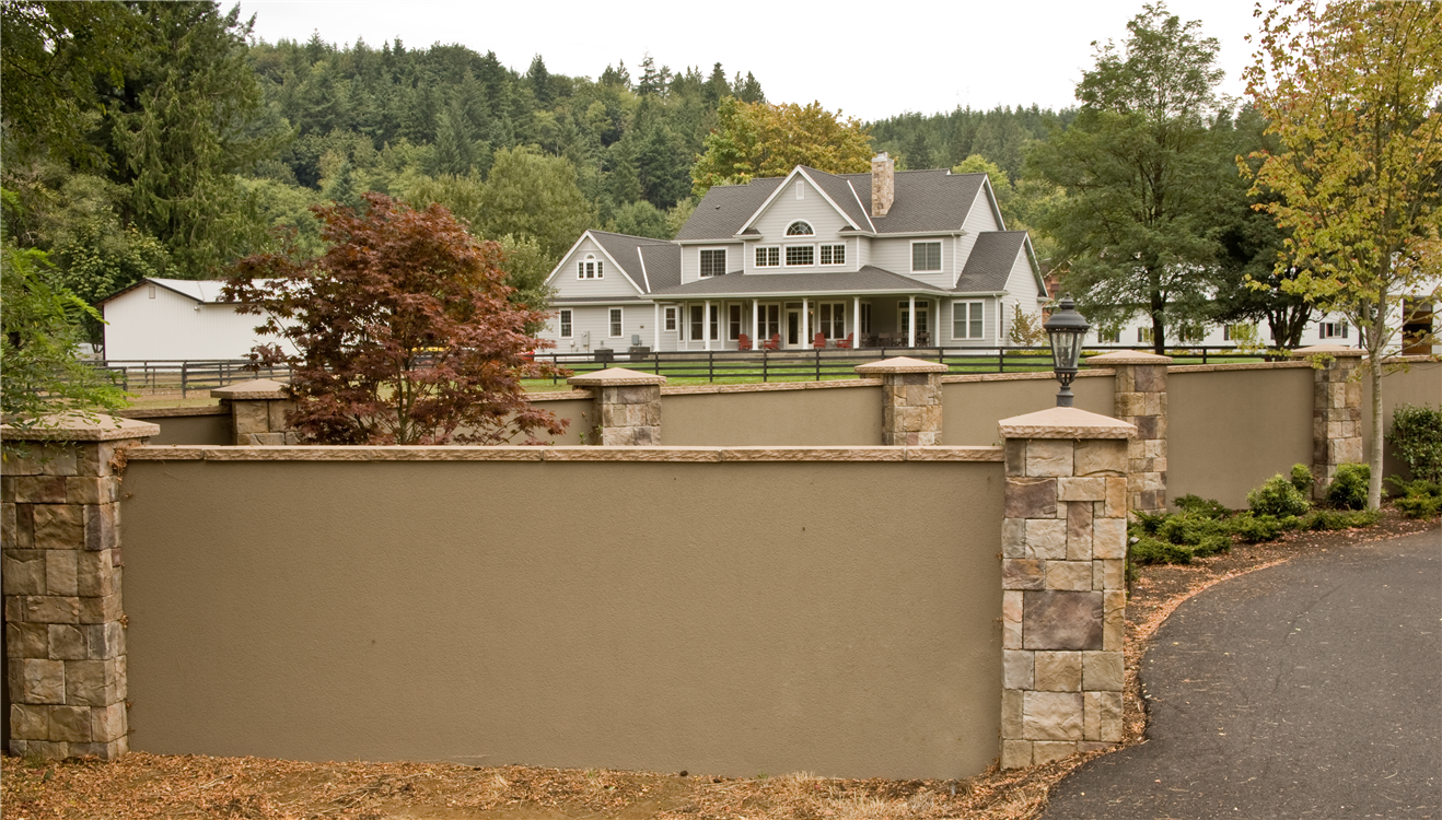 Exterior Wall: _Galvacore Stone And Stucco Wall.jpg