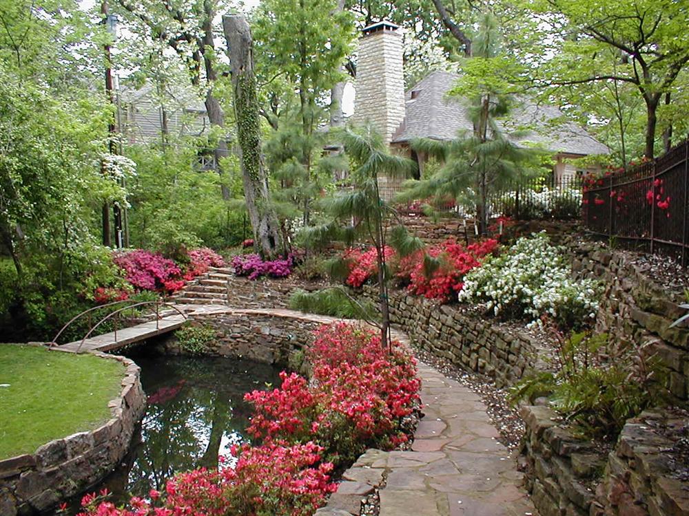 backyard landscape hardscape ideas in tulsa, Backyard Ideas