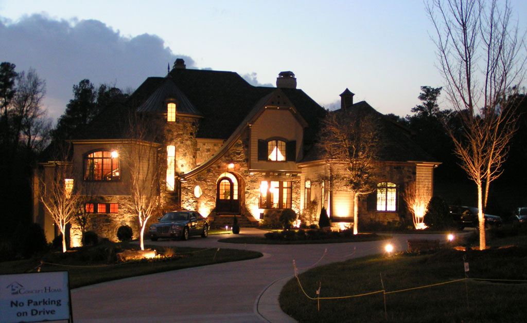 Landscape Lighting Photo Gallery