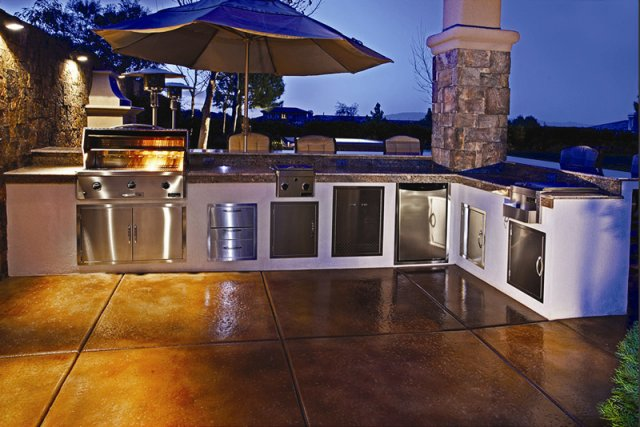 Tulsa landscape outdoor kitchens outdoor kitchens for Kitchen ideas tulsa