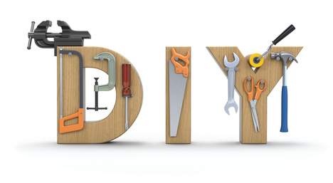 DIY letters with tools