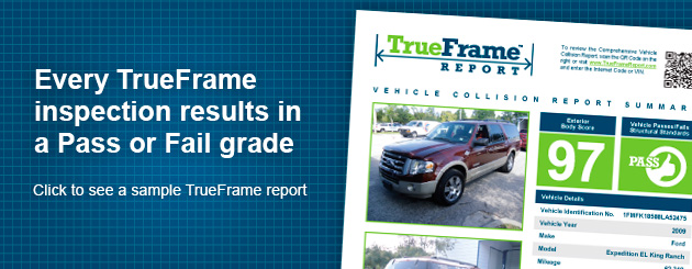 TrueFrame Report Vehicle Inspection