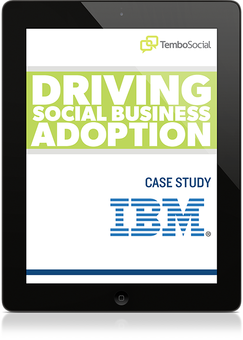 Driving Social Business Adoption with IBM