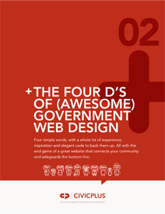 The-4Ds-of-Gov-web-design