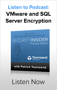 VMware and SQL Server Encryption