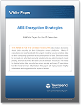 aes encryption strategies