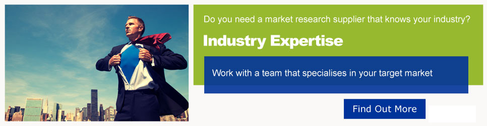Do you need a market research supplier that knows your industry