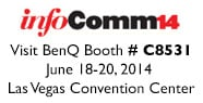 Visit BenQ at infoComm 2014