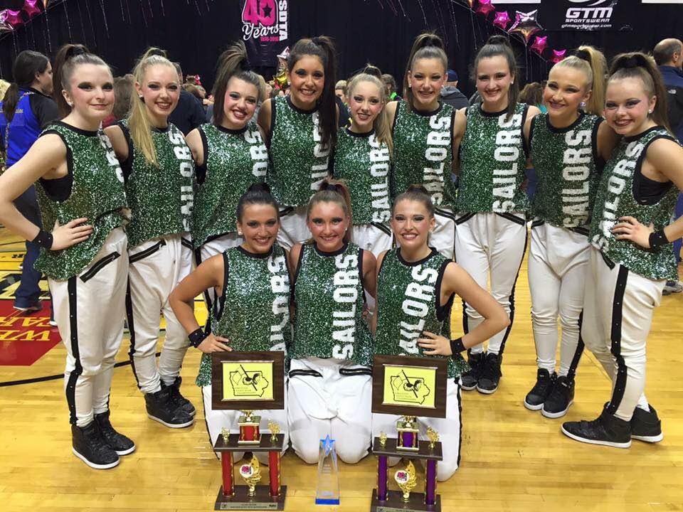 Team Spotlight: Waterloo Columbus Catholic Dance Team, Iowa State ...