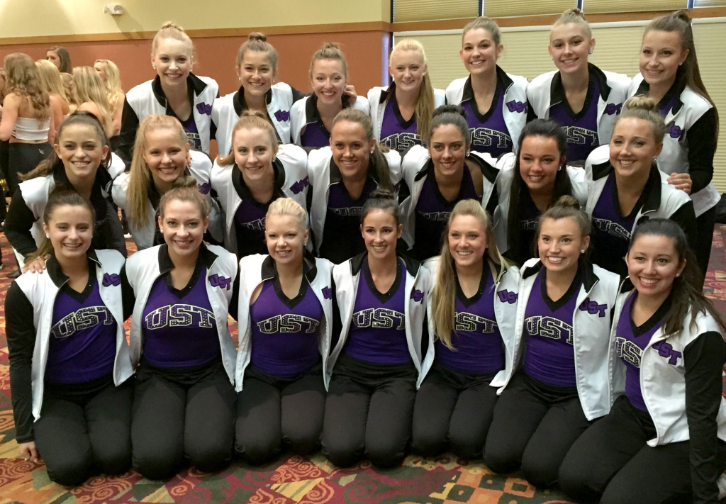 Looks we love game day uniforms at uda college camp for College dance team shirts
