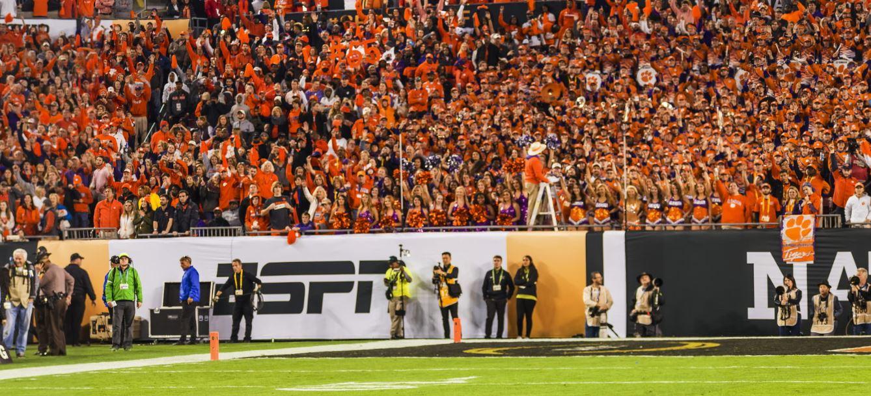 Clemson University Tigers Football Dancers National Champions