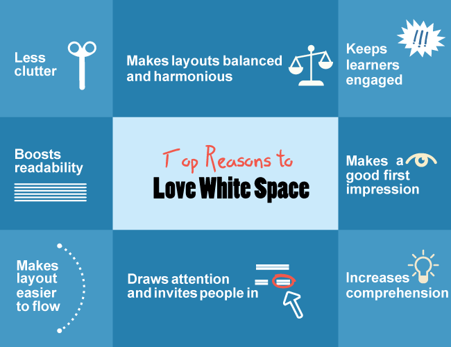 The Power of White Space to Improve Screen Design in eLearning