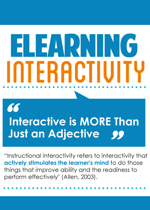 eLearning interactivity