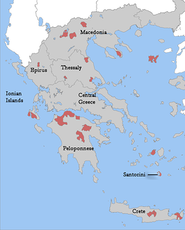 Greece wine regions blank copy