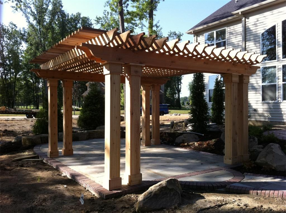 ... Wooden Cedar Pergola Plans Plans Download cherry wood furniture plans