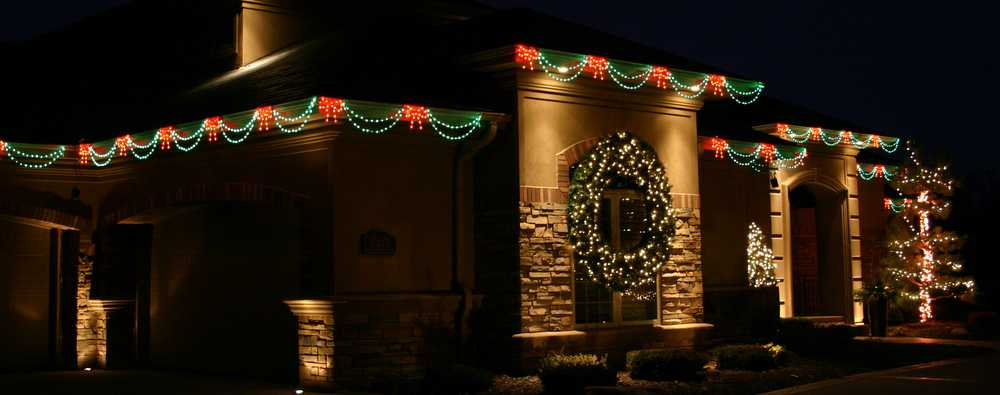 Holiday Lighting by Green Impressions