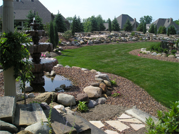 landscape design for large areas