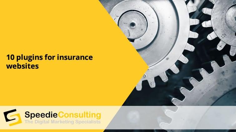 10 plugins for insurance websites