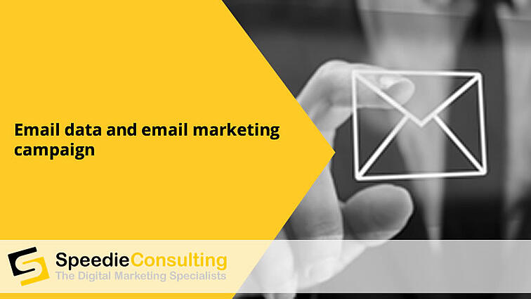 Email data and email marketing campaigns