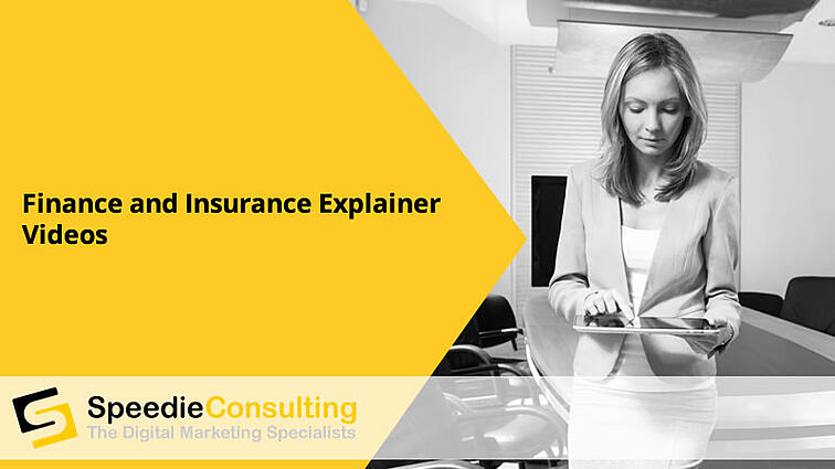 Finance and Insurance Explainer Videos