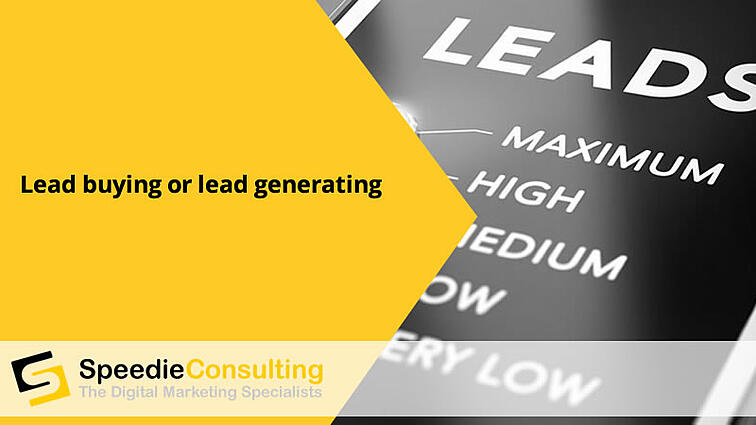 Lead Buying or Lead Generating
