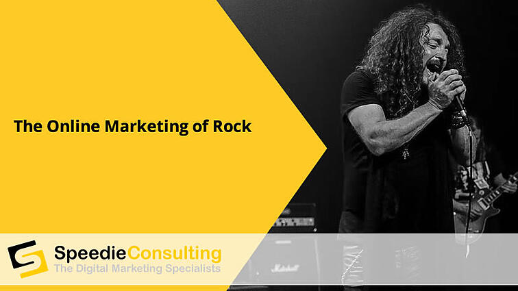 The Online Marketing of Rock
