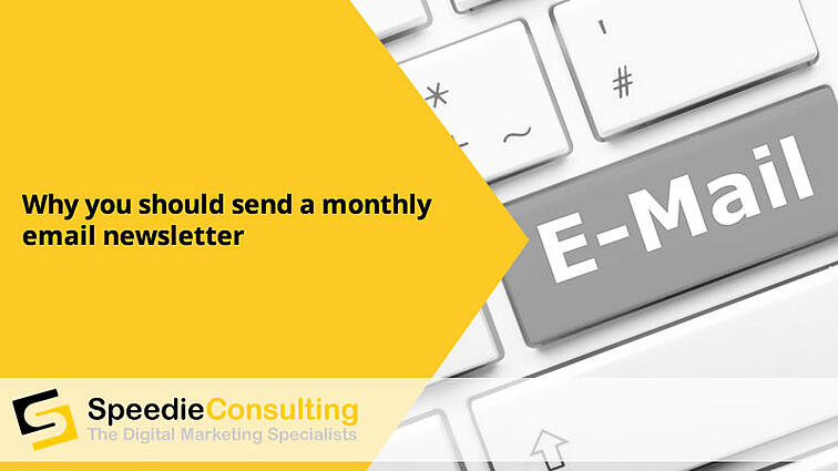 Why you should send a monthly email newsletter